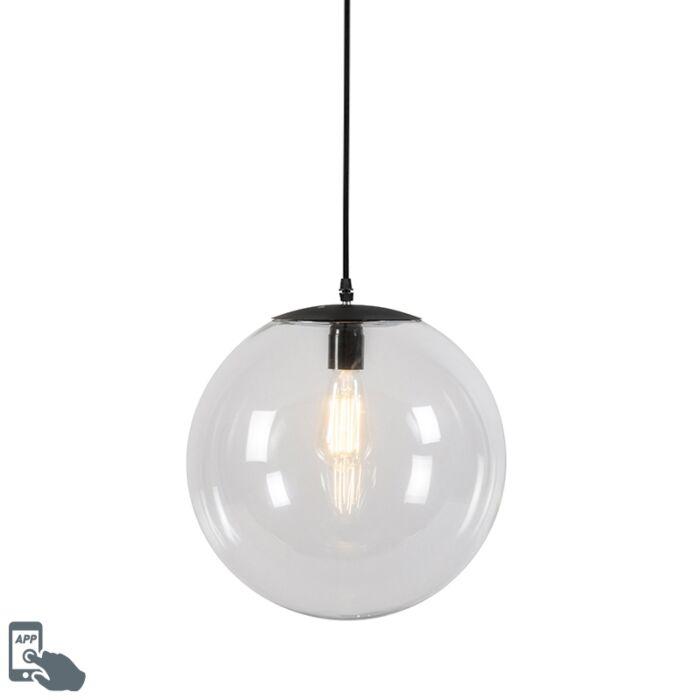 Smart-hanging-lamp-transparent-35-cm-incl.-WiFi-A60---Pallon