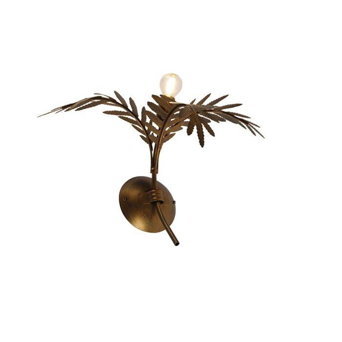 Vintage-wall-lamp-gold-30-cm---Botanica