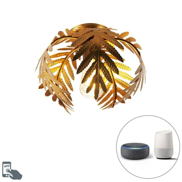 Vintage-smart-ceiling-lamp-gold-24-cm-incl.-WiFi-ST64---Botanica