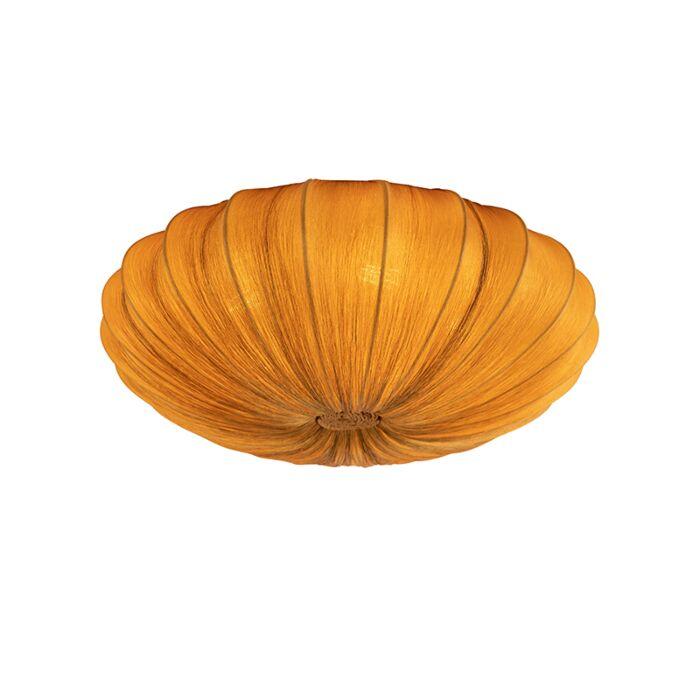 Design-ceiling-lamp-gold-silk-60-cm---Plu