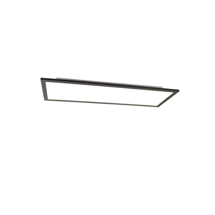 Modern-LED-paneel-zwart-incl.-LED-80-cm---Liv