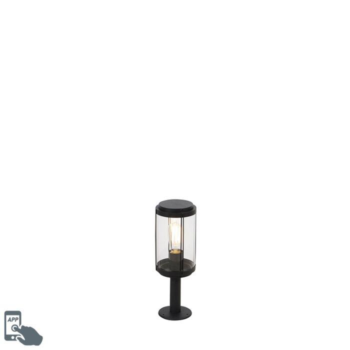 Smart-design-outdoor-lamp-black-40-cm-incl.-WiFi-ST64---Schiedam