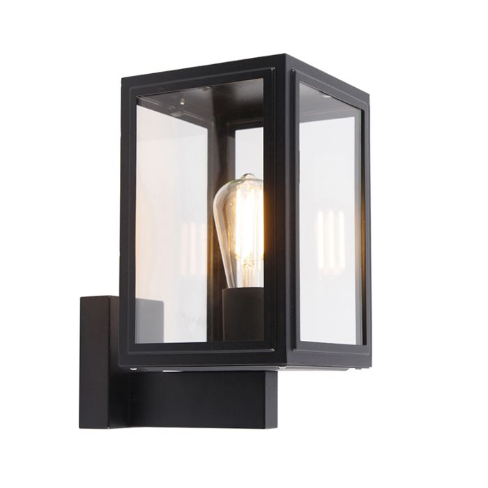 Country-wall-lamp-black-IP44---Sutton-Up