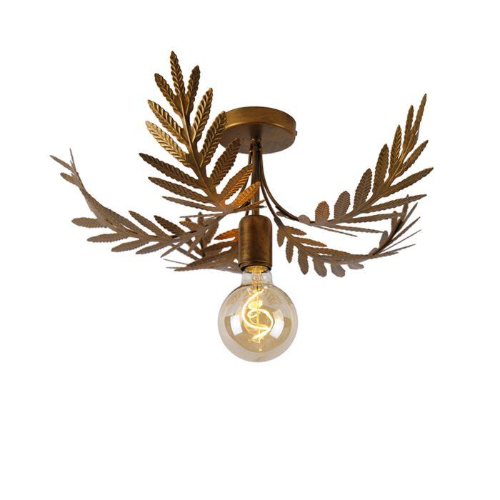 Vintage-ceiling-lamp-gold-46-cm---Botanica