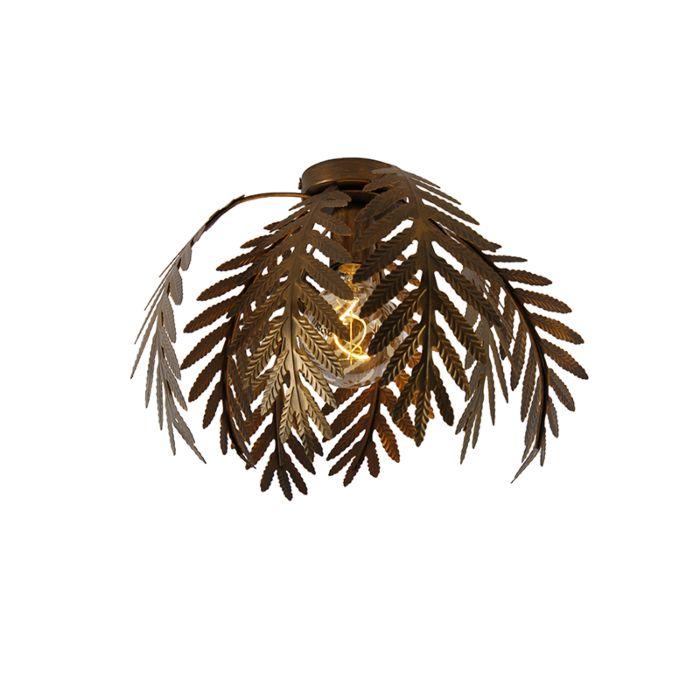 Vintage-ceiling-lamp-gold-34-cm---Botanica