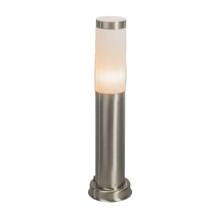Modern-outdoor-lamp-post-steel-45-cm-IP44---Rox