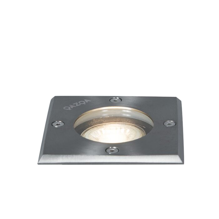Ground-spot-steel-10.5-cm-IP65---Basic-Square