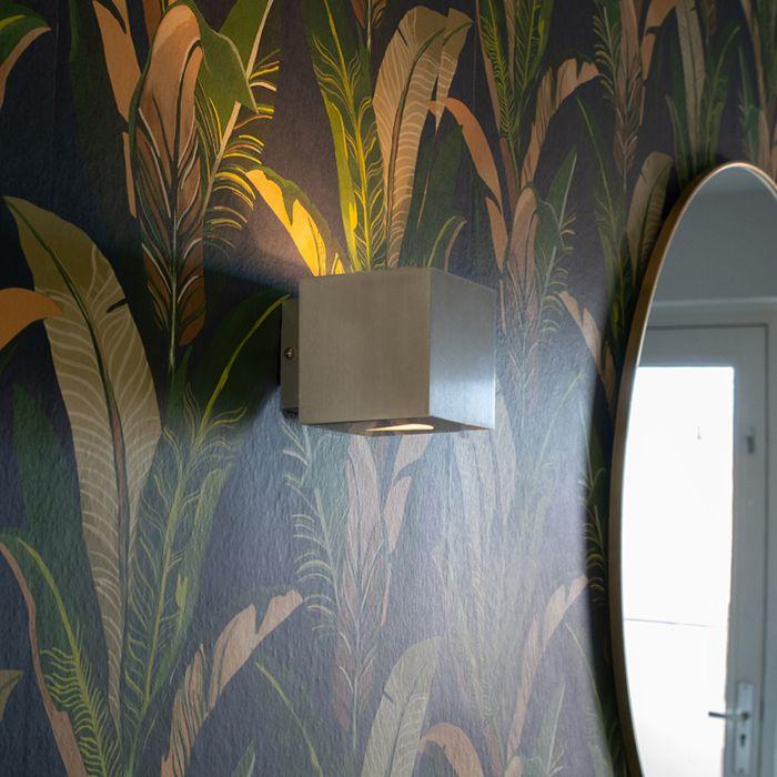 Modern-wall-lamp-aluminum-square---Effect