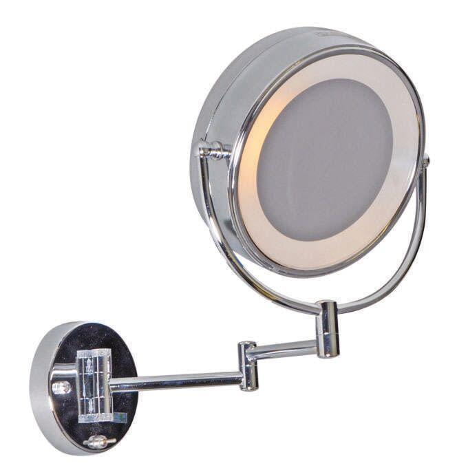 Shaving-and-makeup-wall-lamp-mirror