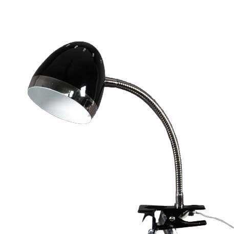 Clamp-Spotlight-Harley-Black