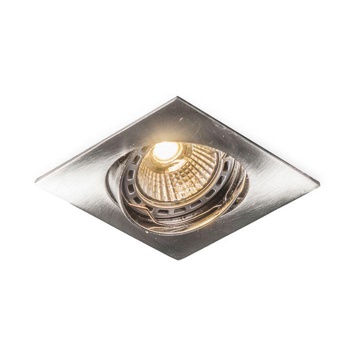 Square-Recessed-Spotlight-Steel---Edu
