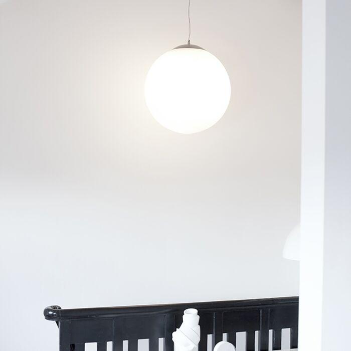 Scandinavian-hanging-lamp-opal-glass-50cm---Ball-50