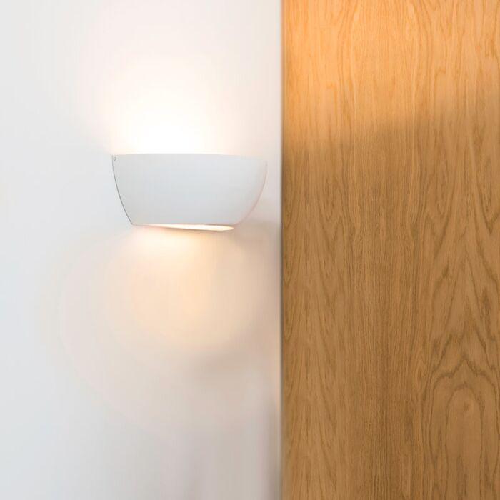 Wall-lamp-white---Gipsy-Chatou