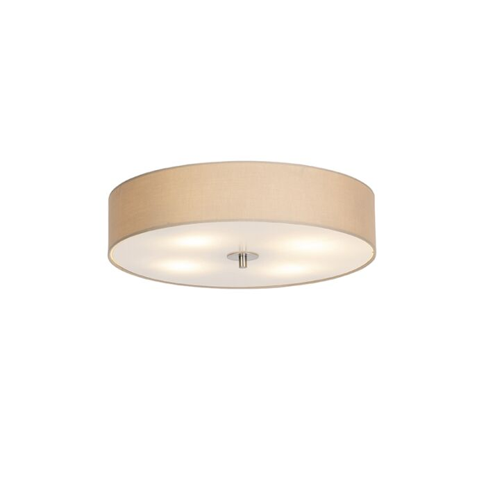 Country-ceiling-lamp-beige-50-cm---Drum