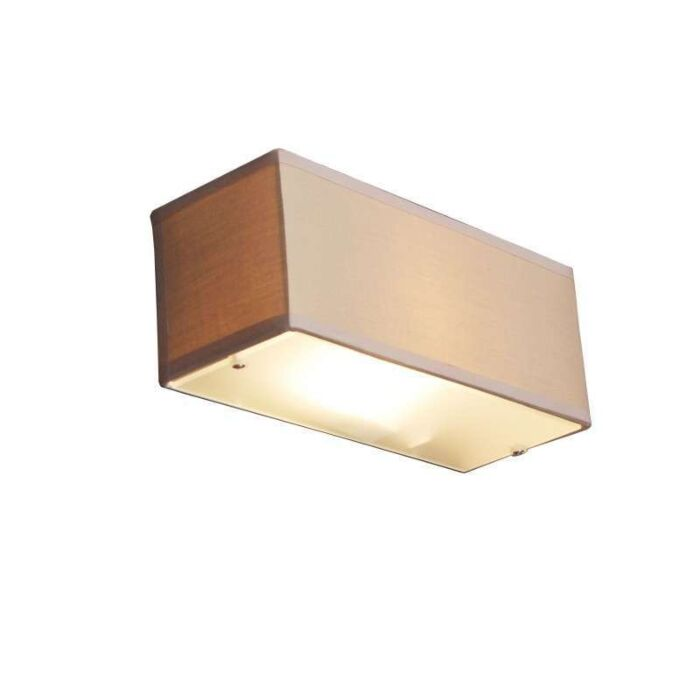 Wall-lamp-Drum-rectangular-beige