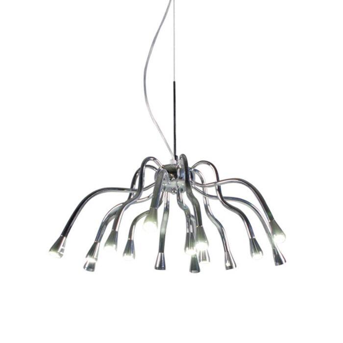 Hanging-lamp-Angeline-LED-chrome
