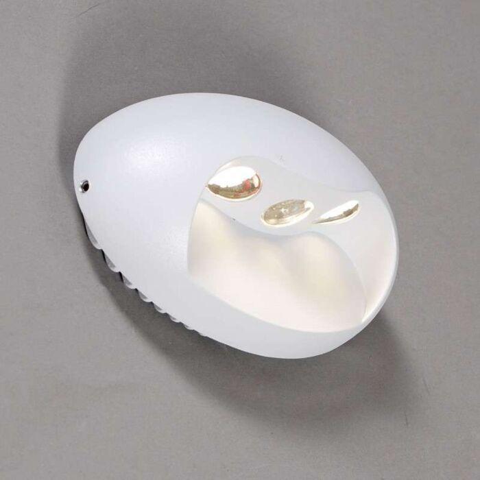 Wall-lamp-Pole-LED-white