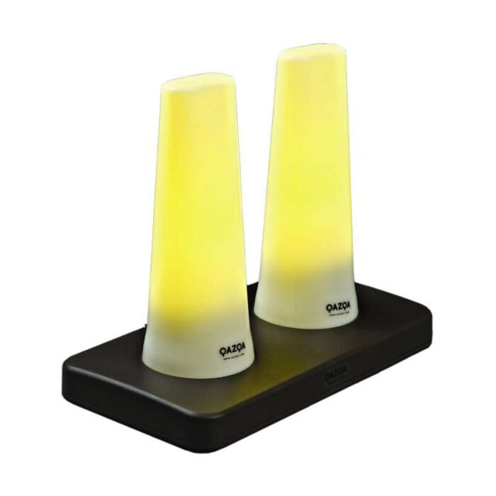 Rechargeable-LED-candle-light-TUBE---set-of-2