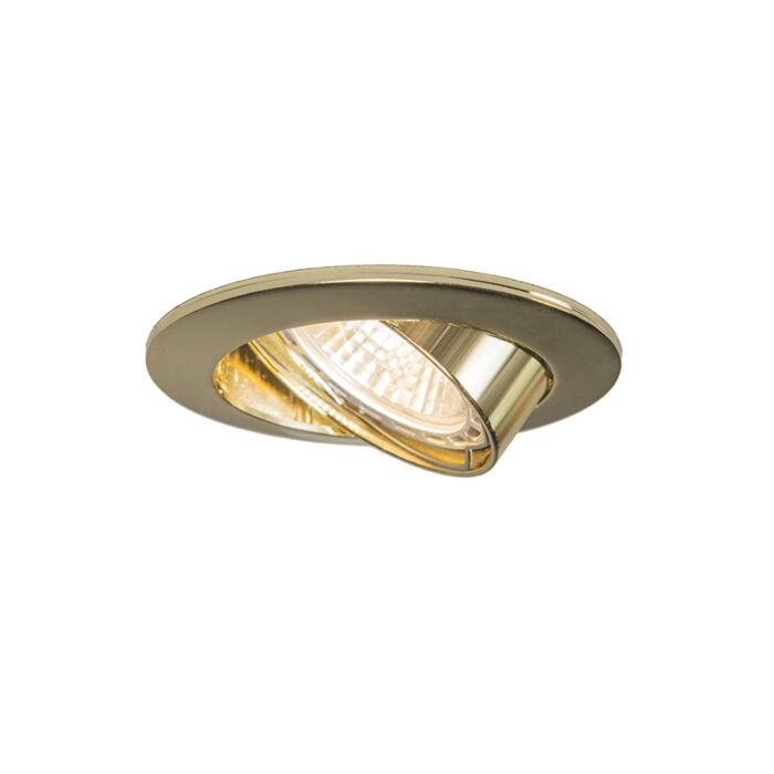 Recessed-spot-tilting-gold---Edu