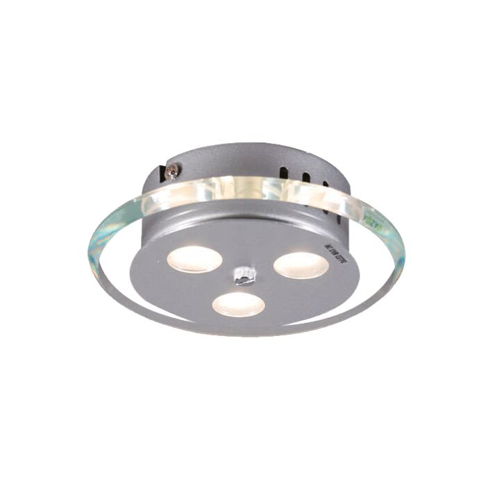 Ceiling-Lamp-Credo-Round-19-LEDs-Clear