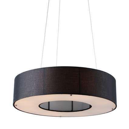 Hanging-Lamp-Drum-Open-60cm-Black