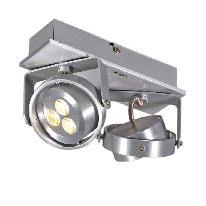 Spotlight-Keoni-2-LED-Aluminium