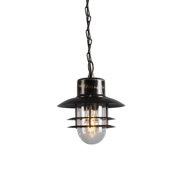 Retro-hanging-lamp-bronze---Shell