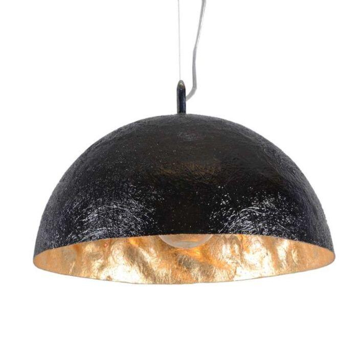 Hanging-Lamp-Magna-40-Black---Gold