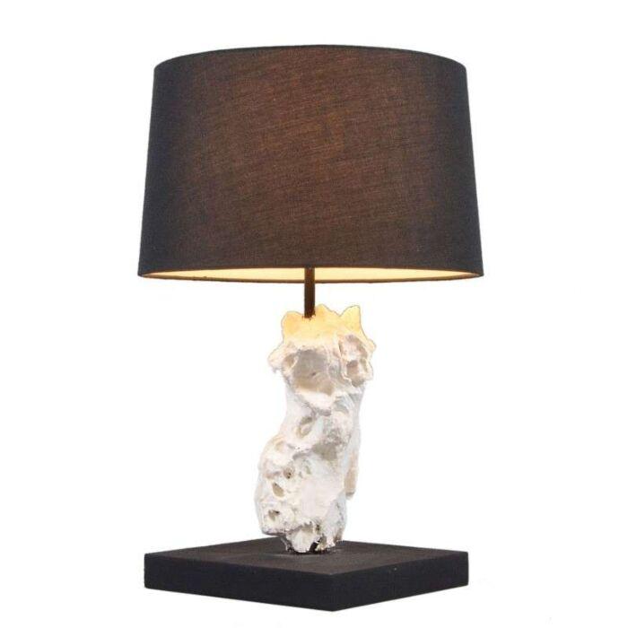 Table-Lamp-Kanya-White---Black-Shade