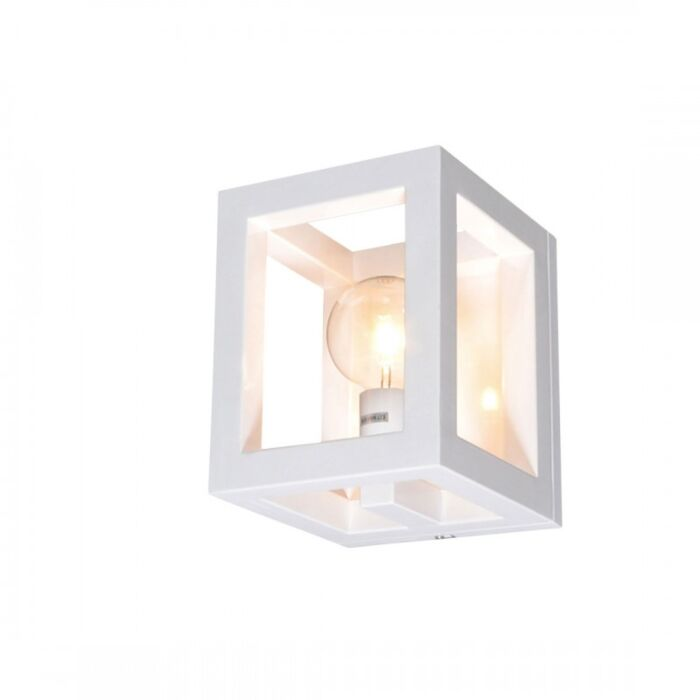 Wall-Lamp-Cage-1-White