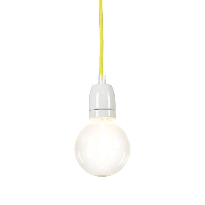 Pendant-Lamp-Cavo-Yellow