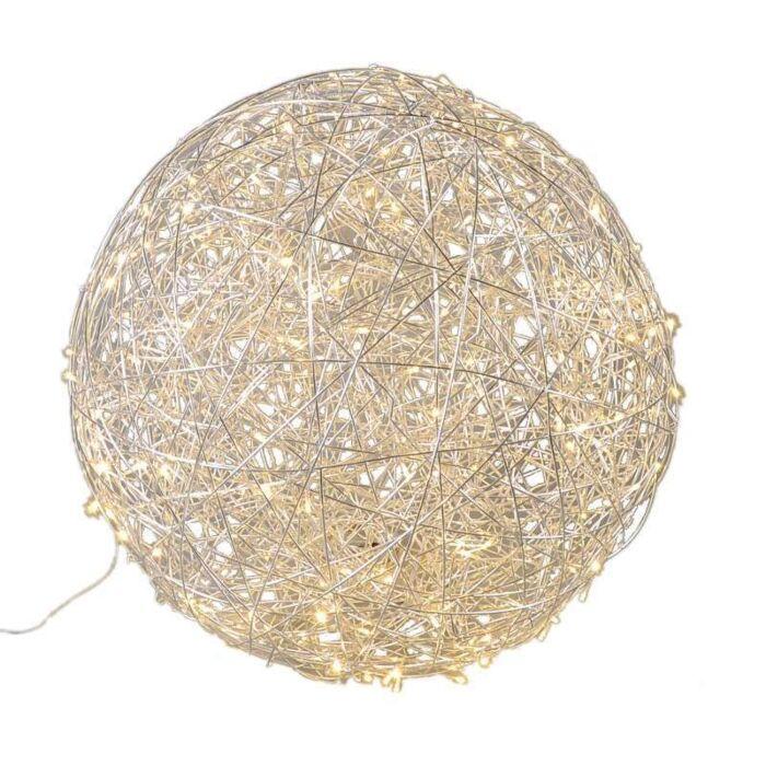 Floor-Lamp-Draht-Sphere-80cm-LED-Aluminium