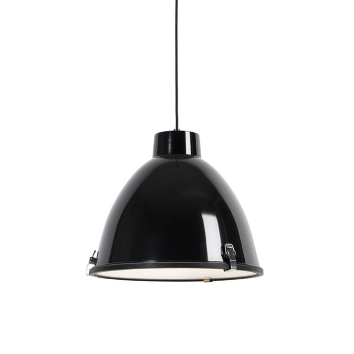 Industrial-hanging-lamp-black-38-cm-dimmable---Anteros