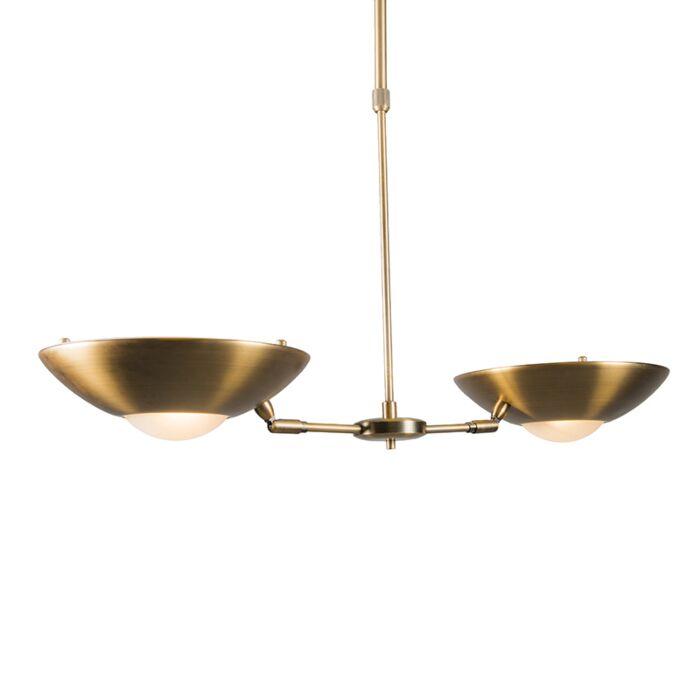 Trento-II-bronze-pendant-light