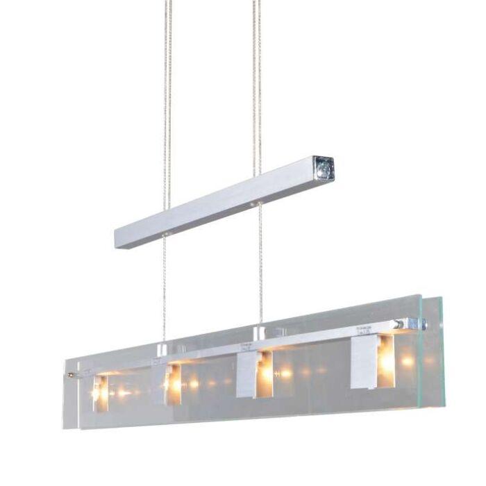 Pendant-Kidrio-4-Aluminium