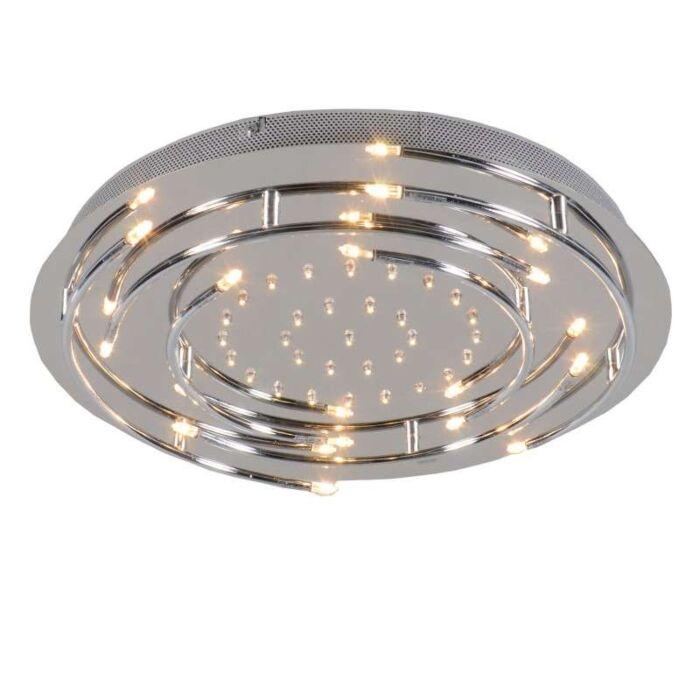 Ceiling-Lamp-Aro-LED-Chrome