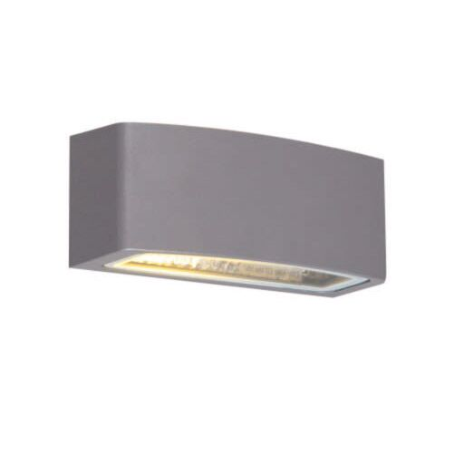 Modern-outdoor-wall-lamp-graphite-14.3-cm-IP44---Latina