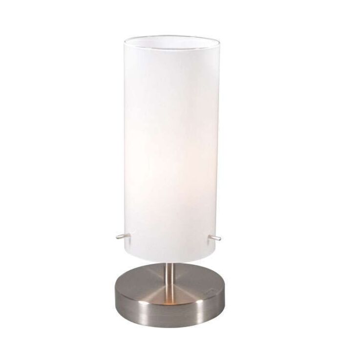 Table-Lamp-Boy-1-Steel-with-White-Glass