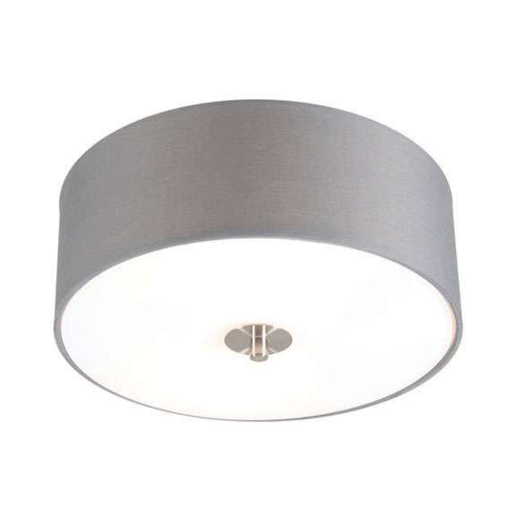 Country-ceiling-lamp-gray-30-cm---Drum