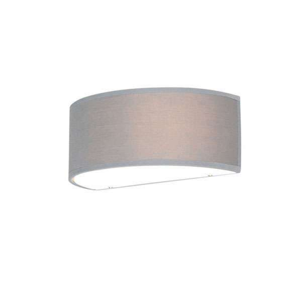 Wall-lamp-half-round-gray---Drum