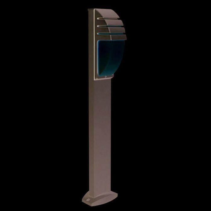 Outdoor-Lamp-Pole-100cm-City-Gray