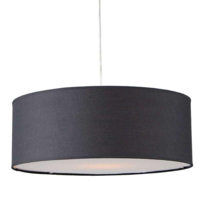 Pendant-Lamp-Tamburo-50cm-Black