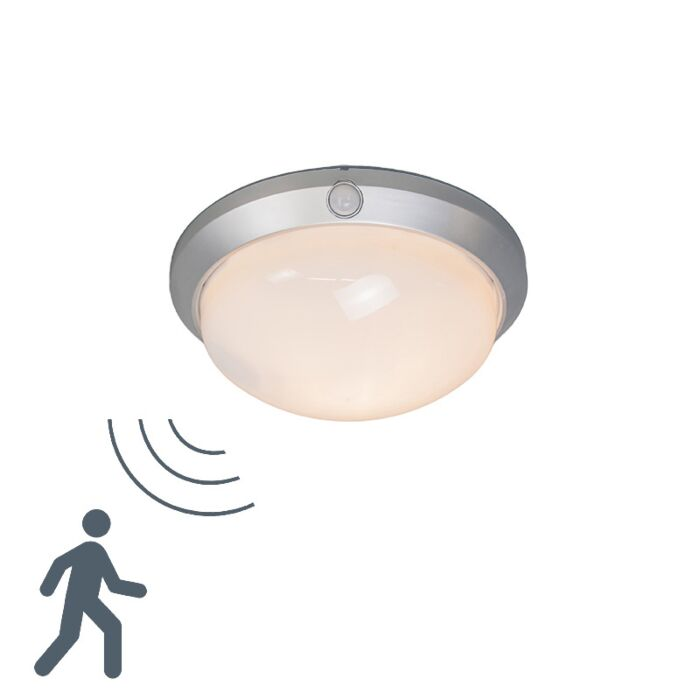 Ceiling-Lamp-Motion-I-Silvergrey-with-Motion-Sensor