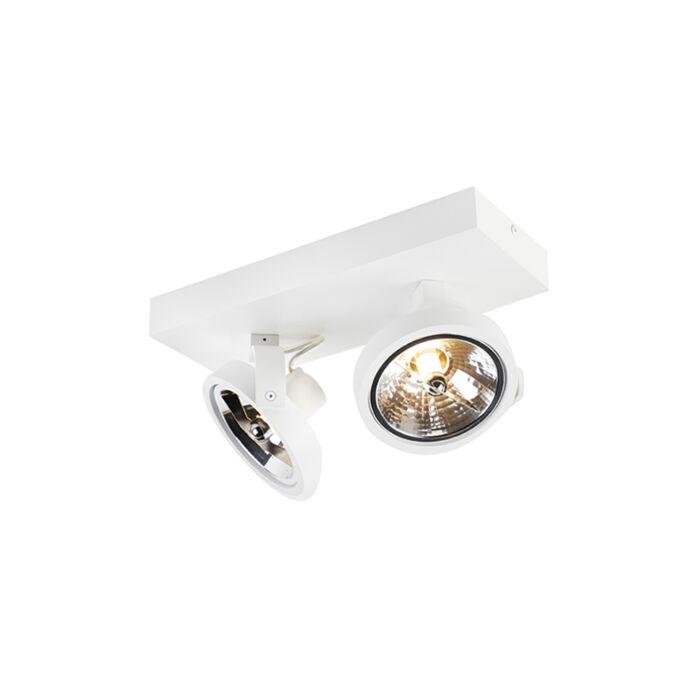 Modern-Adjustable-Spotlight-2-White-incl.-LED-G9---Go