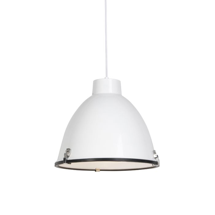 Industrial-hanging-lamp-white-38-cm-dimmable---Anteros