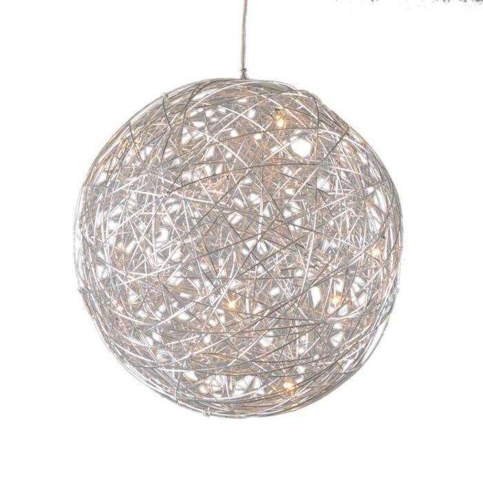 Pendant-Lamp-Draht-Sphere-60cm-Aluminium