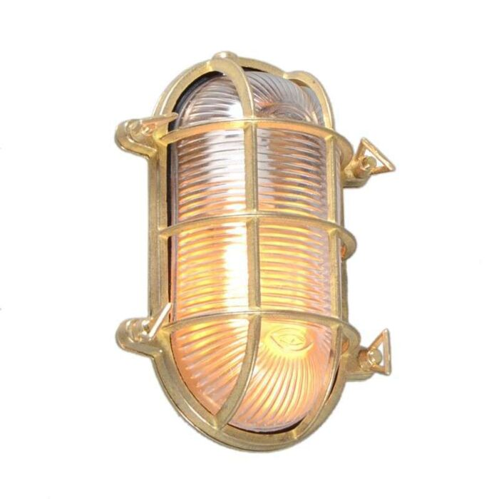 Wall/Ceiling-Lamp-Nautica-Oval-Gold