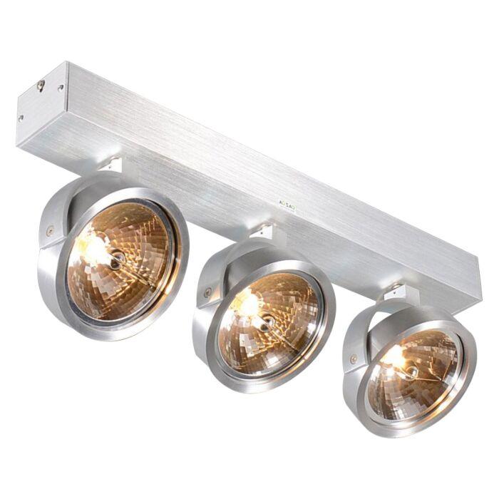 Design-spot-aluminum-adjustable-3-light-incl.-Halogen---Go