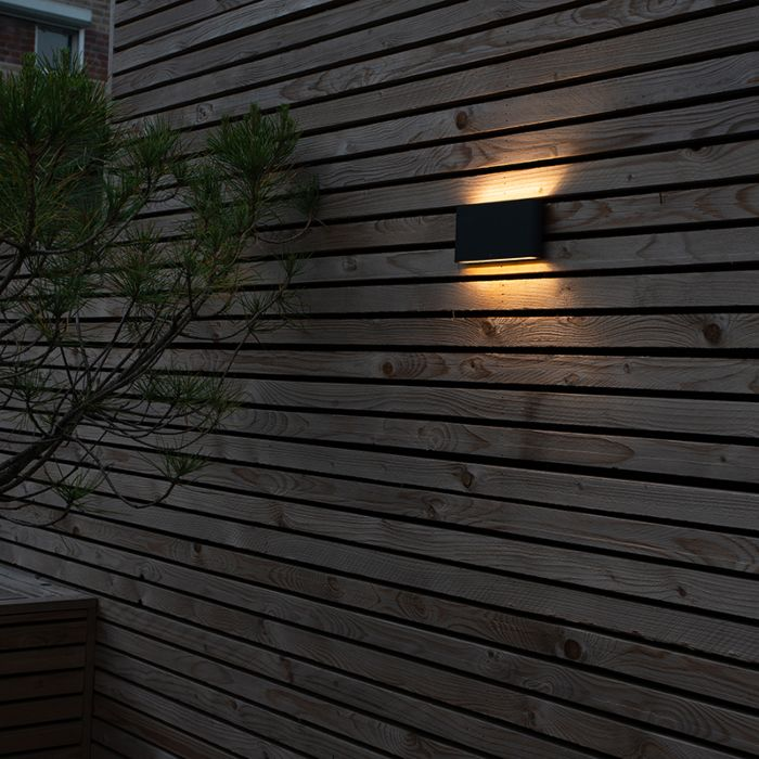 Modern-wall-lamp-anthracite-incl.-LED-IP54---Otan-Outdoor