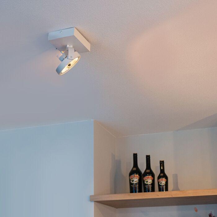 Modern-Adjustable-Spotlight-1-White-incl.-LED-G9---Go